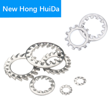 Internal Outer Toothed Gasket Washer Lock Washer 304 Stainless Steel M3 M4 M5 M6 M8 M10 M12 M14 M16 M20 M22 M24 M30 100pcs din6798j m3 m4 m5 m6 m8 304 stainless steel washers internal toothed gasket washer serrated lock washer hw137