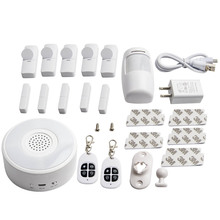 Wi-Fi Home alarm system Apartment windows Door alarm sensors for Home Apartment