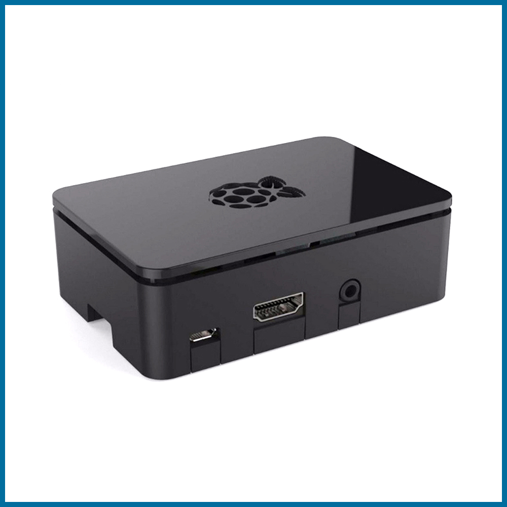 S ROBOT Official Original Raspberry Pi 3b+ Case Raspberry Pi 3 Accessories Black Protective Case  RPI159