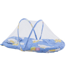 цена на Foldable polyester baby bed mosquito net baby mosquito net yurt baby crib bed tent baby room decor baby portable bed
