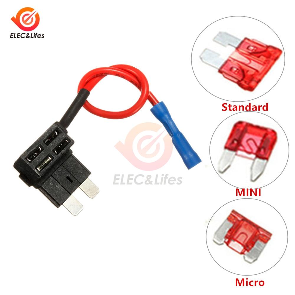 Micro Blade Low Profile Mini APS ATT Fuse Adapter ADD A CIRCUIT 4 x 10A Fuses
