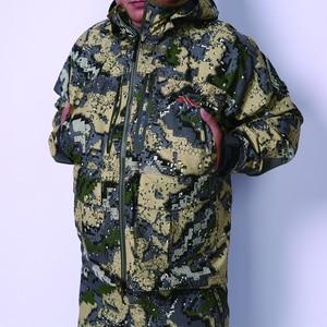 Image 4 - 2019 狩猟 suiCamouflage 屋外ジャケット男性防水狩猟服ウインドブレーカージャケットコート同じ段落シトカ
