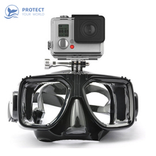 2019 new GO PRO adult snorkel diving mask swimming shatter-resistant anti-fog underwater