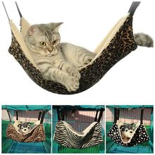 Cute Cat Bed Pet Hammock Kitten Soft Hanging Mat Cage Cover Cushion Rabbit Blankets Products