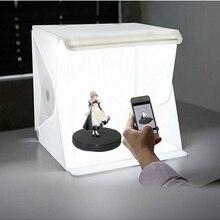 Светодиодный складной фон для фотосъемки с изображением светильник световой короб с фотографией лампа для фото студия для декорации для фо...