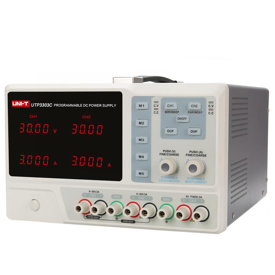 UNI-T 4-output USB Charging Programmable Linear DC Power Supply 8