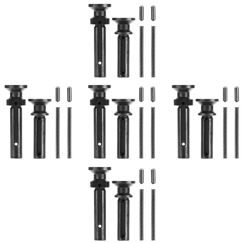 EWOLF 5x set Mil-Spec .223/5.56 .308/7.62 расширенные поворотные штифты с зажимом и пружиной