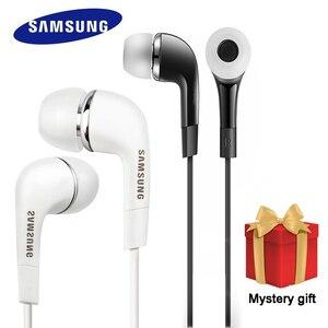 Image 1 - SAMSUNG Original écouteur EHS64 filaire 3.5mm dans loreille avec Microphone pour Samsung Galaxy S8 S8Edge Support smartphone
