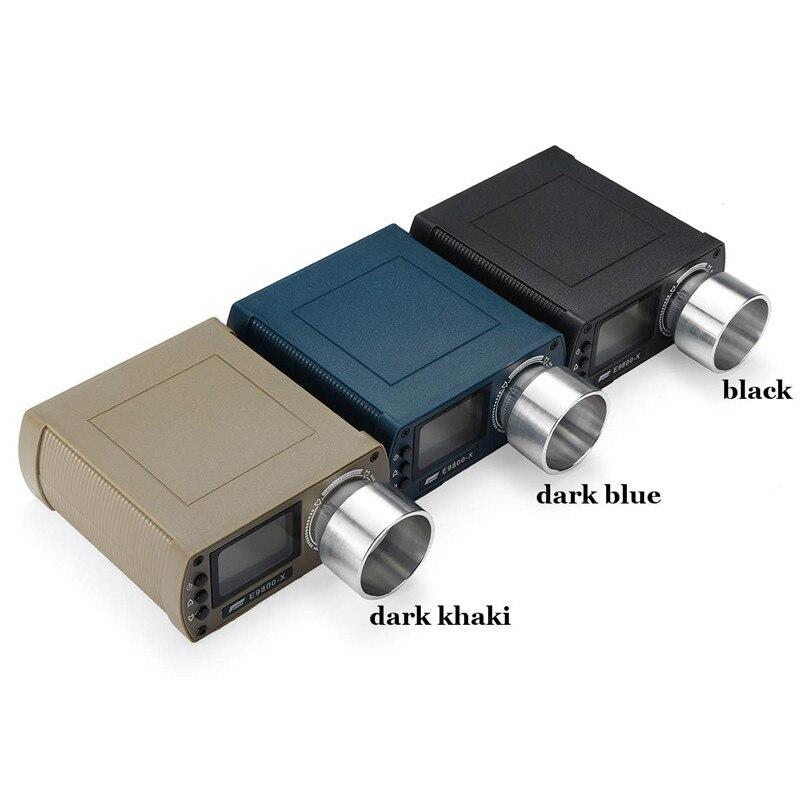 Testeur de vitesse de prise de vue E9800-X chronographe de prise de vue de haute précision-10C à 50C 0-500J écran LCD à énergie cinétique