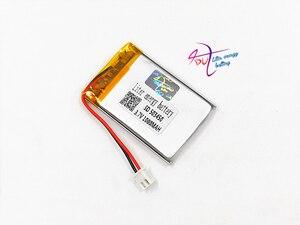 Image 5 - JST batería recargable de polímero de litio para auriculares Mp3, XH, 2,54mm, 503450, 523450, 3,7 V, 1000MAH, almohadilla para auriculares, DVD, cámara bluetooth