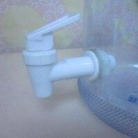 Dispensador de botellas de agua  espita de plástico  botella de repuesto  válvula superior  dispensador de grifo Simple  dispositivo blanco práctico|Bombas de presión de agua manuales| |  -