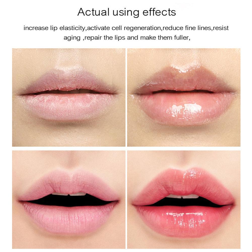 Transparent Lip Glaze Moisturizing Brighten Lip Tint Lighten Color Lip Lines Lipstick Balm Lip Plump I0A8 image
