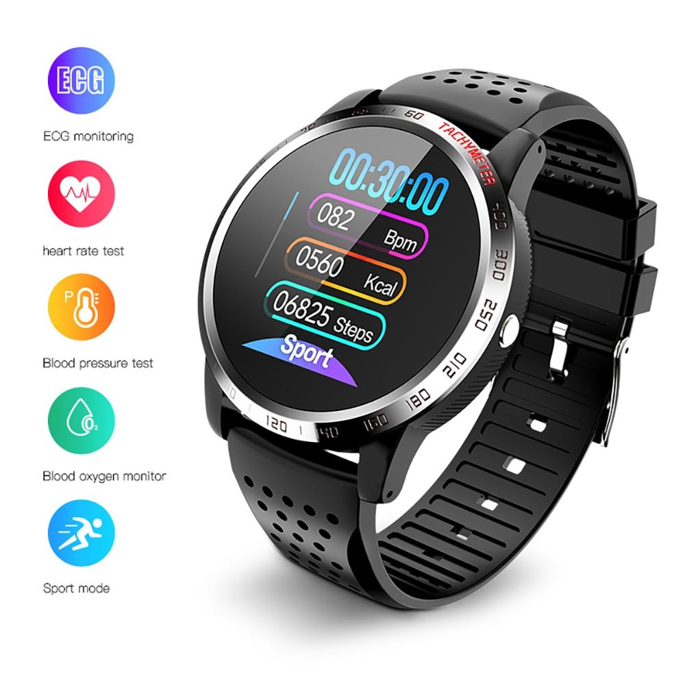 Bolzlun ECG PPG HRV Smart Watch Blood Pressure Heart Rate Monitor Band IP67 waterproof Multisport Fitness tracker Smart BraceletSmart Wristbands   -