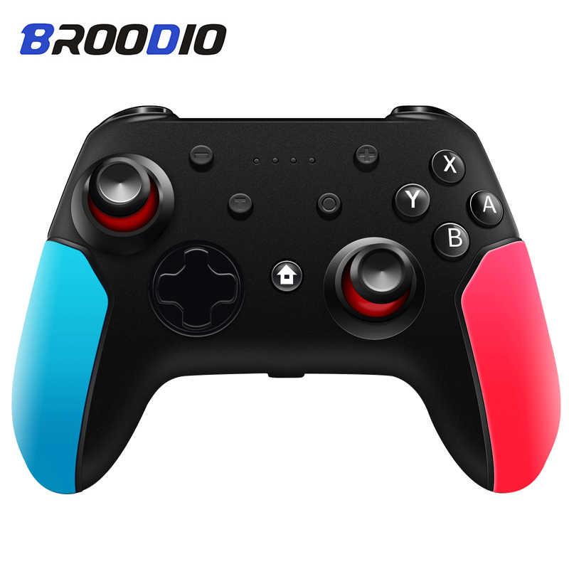 Senza Fili di Bluetooth Gamepad Per Nintendo Interruttore Pro NS-Interruttore Pro Controller di Gioco Joystick Per Switch di Console Con 6-assi Maniglia