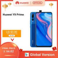 """Globale Versione Huawei Y9 Prime 2019 Smartphone Ai Triple Posteriore Telecamere Auto Pop Up Anteriore Della Macchina Fotografica 6.59 """"4 Gb 128 Gb Cellulare"""