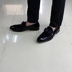 Image 5 - Luxury Gorgeous Mens Wedding Loafers Patent Leather Suede Shoes Mens Party Dinner Dress Casual Shoes Summer Shoes for Men