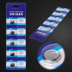 Image 4 - 5PCS Литий Батарея CR1225 электронный монета сотового аккумулятора кнопочного типа 3V LM1225 BR1225 KCR1225 CR 1225 часы автомобиль игрушка ключ пульт дистанционного управления