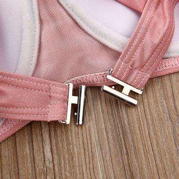 2020 New Womens Padded Bra Push-up Swimwear Bikini Set High Waisted Swimsuit Bathing Swimming Costume 4