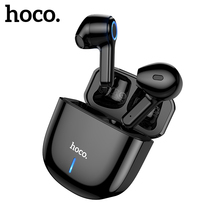 Hoco ES45 TWS Earphone Bluetooth 5.0 Wireless Headset With Mic Charging Box Intelligent Touch Control Headphones For Smartphones