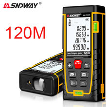 SNDWAY Laser Rangefinder 50M 70M 100M 120M Laser distance measure Bilevel bubbleElectronic ruler House construction and Hunting