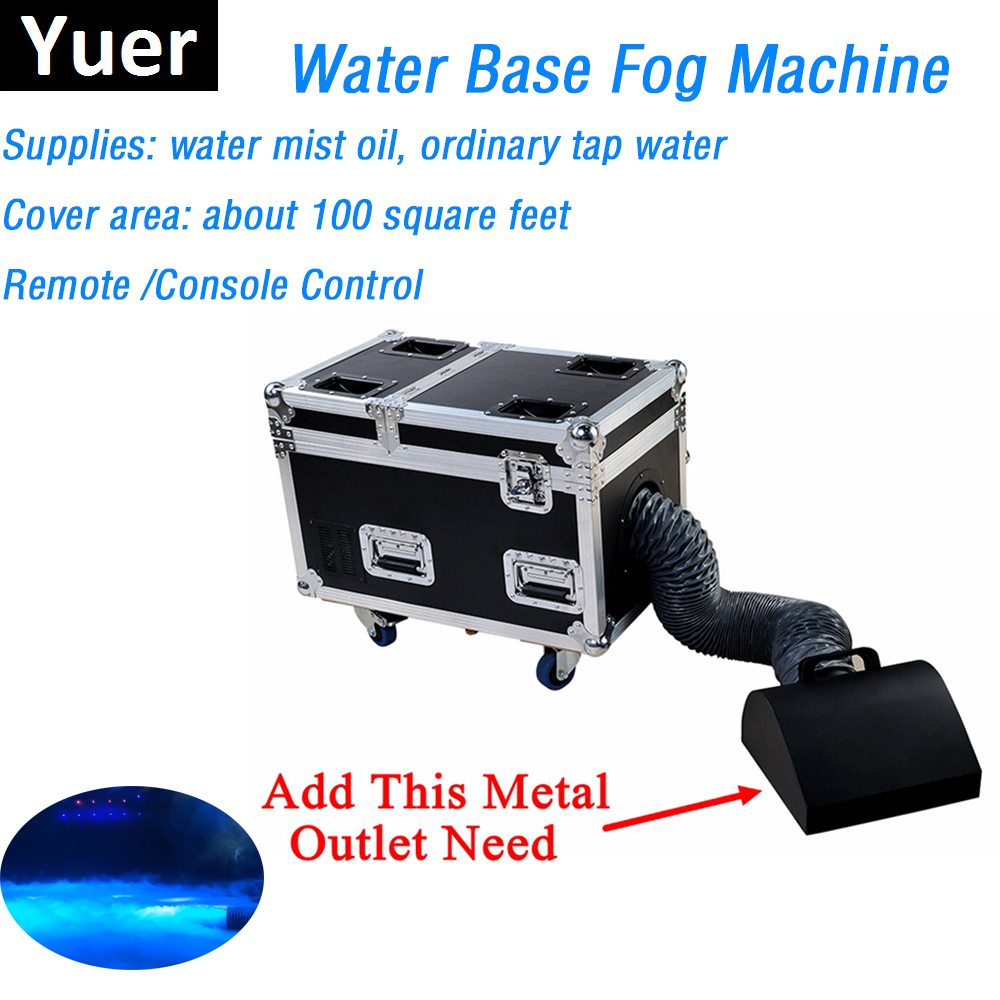 High Quality Small Case 3000W Water Base Fog Machine Water Mist Low Fog Smoke Machine Good For Xmas Holiday Stage Decorations-in Stage Lighting Effect from Lights & Lighting