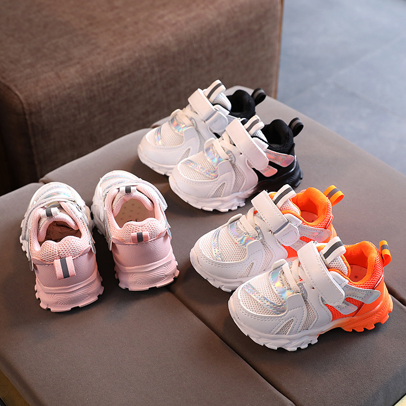 8.99US $ 22% OFF Baby Sneakers White Kids Shoes Girls Sneakers Sports Running Toddler Children Shoes...