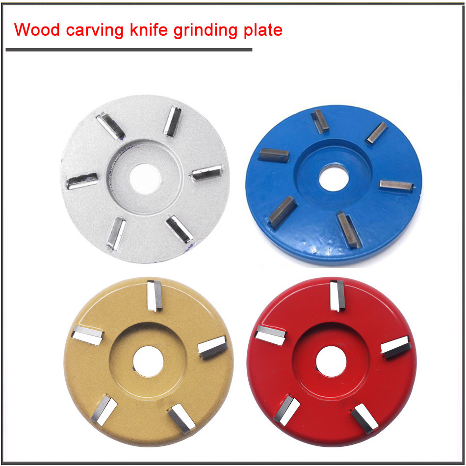 Wood Blade Tea Table Carving Knife Tea Table Hexagon Blade Root Carving Angle Grinder Grinding Blade Disc