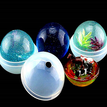 20/30/40/50/60mm Pendant Fashion Scrapbooking Silicone Mould DIY Resin Decorative Craft Jewelry Making Mold Epoxy Resin Molds
