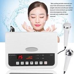 Hifu ультразвуковая машина для красоты лица спа Электрический вибрирующий очиститель для лица отбеливающий улучшающий кожу веснушки морщин...