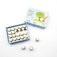 1 комплект 20 шт губки кисточки для пальцев коробка хранения