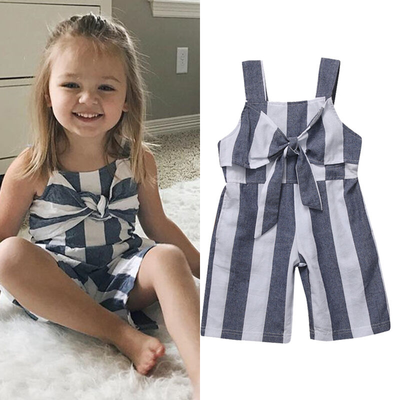 Toddler Infant Baby Girls Jumpsuit Romper Bodysuit Clothes Outfits Playsuit