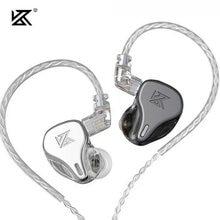 Più recente unità di azionamento dinamico KZ DQ6 3DD In Ear auricolari HiFi musica sport cuffie con cavo placcato argento 2pin KZ EDX ZSN PRO ZSX