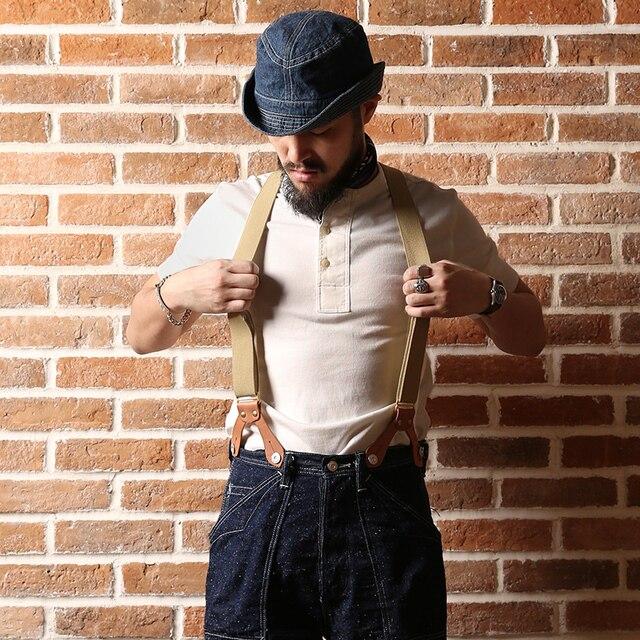 BRONSON Henley T Shirt dawne czasy męskie bawełniane koszule męskie koszulki z krótkim rękawem Tee Slim dopasowane koszulki Casual ubrania Vintage Solid Color