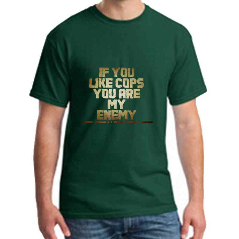 Persönlichkeit acab gold t shirt t männer 3xl 4xl 5xl neuheit hiphop tops