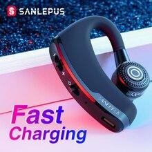 Sanlepus carregamento rápido bluetooth fone de ouvido sem fio fone de ouvido do carro telefone handsfree mic música para iphone xiaomi samsung