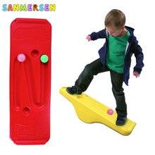 Crianças balance board crianças sensorial treinamento balanço gangorra indoor exercício atividade de fitness ao ar livre jogo interativo brinquedos