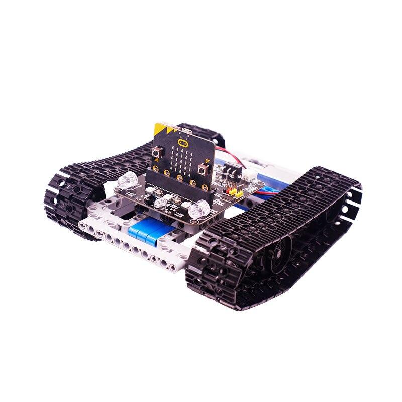 Microbit programmierbare gebäude block kit kinder elektronische modul micro: bit pädagogisches spielzeug roboter kompatibel mit Legoing bu - 5