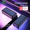 Floveme power bank 20000 mah poverbank de carregamento portátil do telefone móvel carregador de bateria externa powerbank 20000 mah para xiao mi