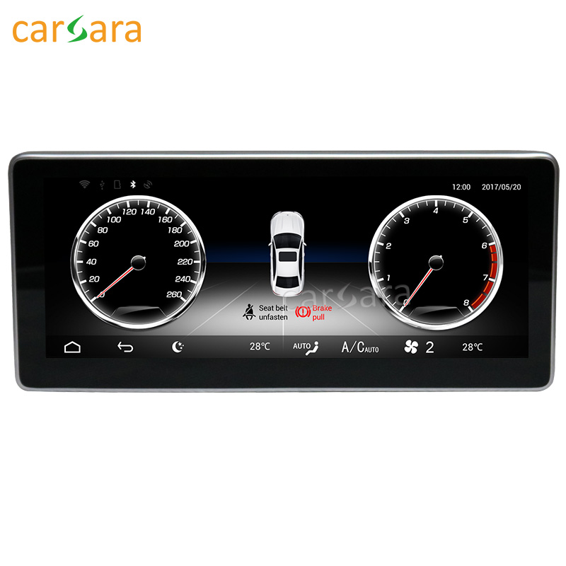 carsara <font><b>Android</b></font> display for <font><b>Benz</b></font> GLK X204 2013-2015 <font><b>10.25</b></font> <font><b>inch</b></font> touch screen GPS Navigation radio stereo dash multimedia player image