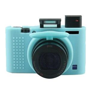 Image 3 - Draagbare Zachte Siliconen Camera Case Voor Sony RX100M3 RX100M4 RX100M5 RX100 Iii RX100 Iv RX100 V Tas Beschermende Camera Accessoire