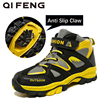 Children Outdoor Sports Hiking Boots Teenagers Mountain Climbing Trekking Shoes Boy Winter Ankle Boots Kids Classic Sneakers
