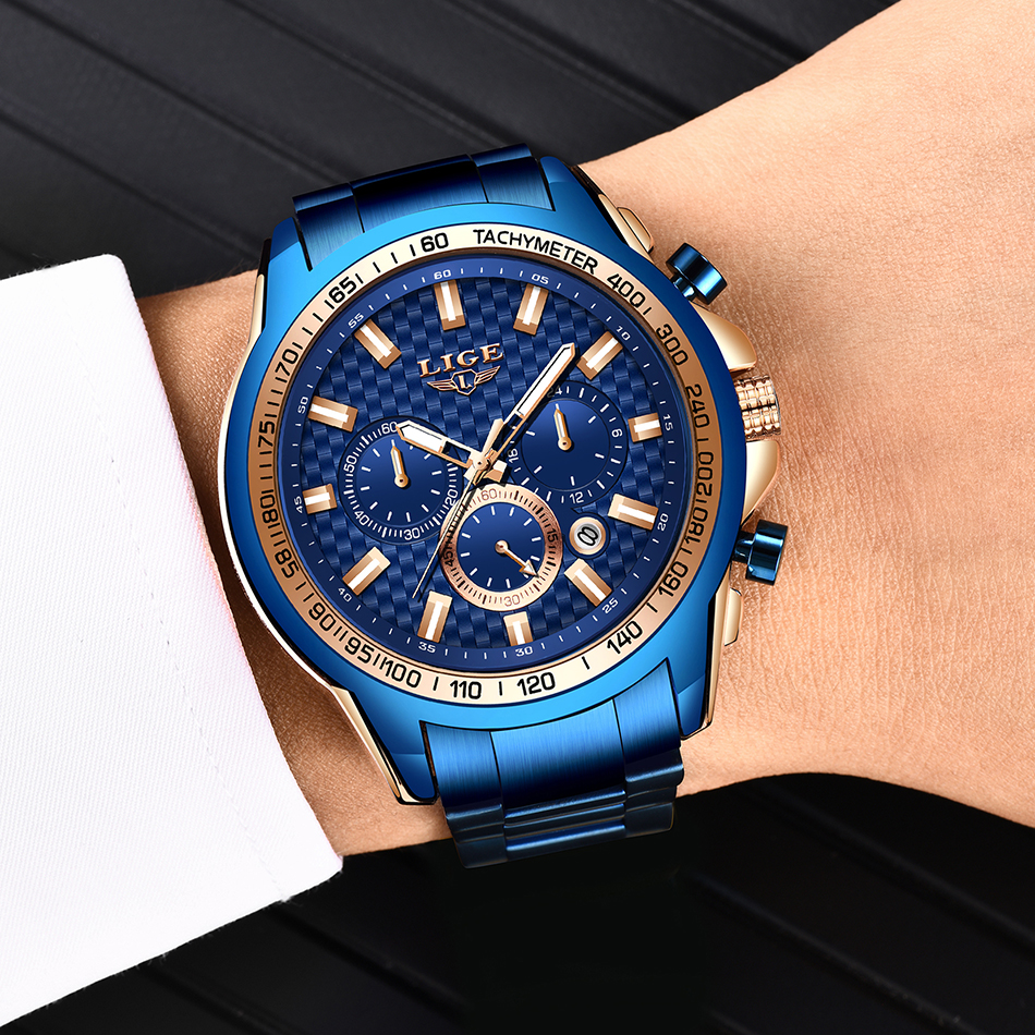 H5e92e19a25694add865b50d8d0ab6766q - LIGE New Fashion Blue Watch,Mens Watches Top Brand Luxury Clock Man Military Chronograph Quartz Watch Men Relogio Masculino