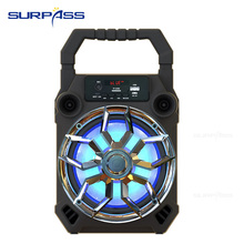Portable High Quality Bluetooth Karaoke System Trolley Speaker  6.5inch Music Surround Waterproof Outdoor Speakers