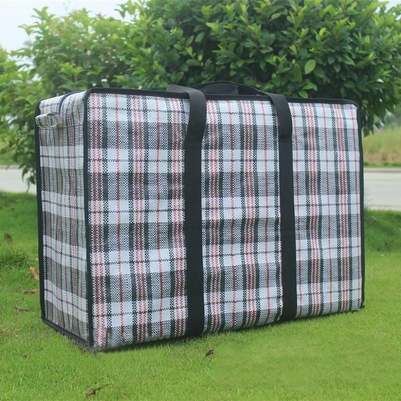 Extra Large Travel Bag Waterproof Oxford Bag Thickening Duffel Bag Packing Wholesale Snakeskin Woven Bag