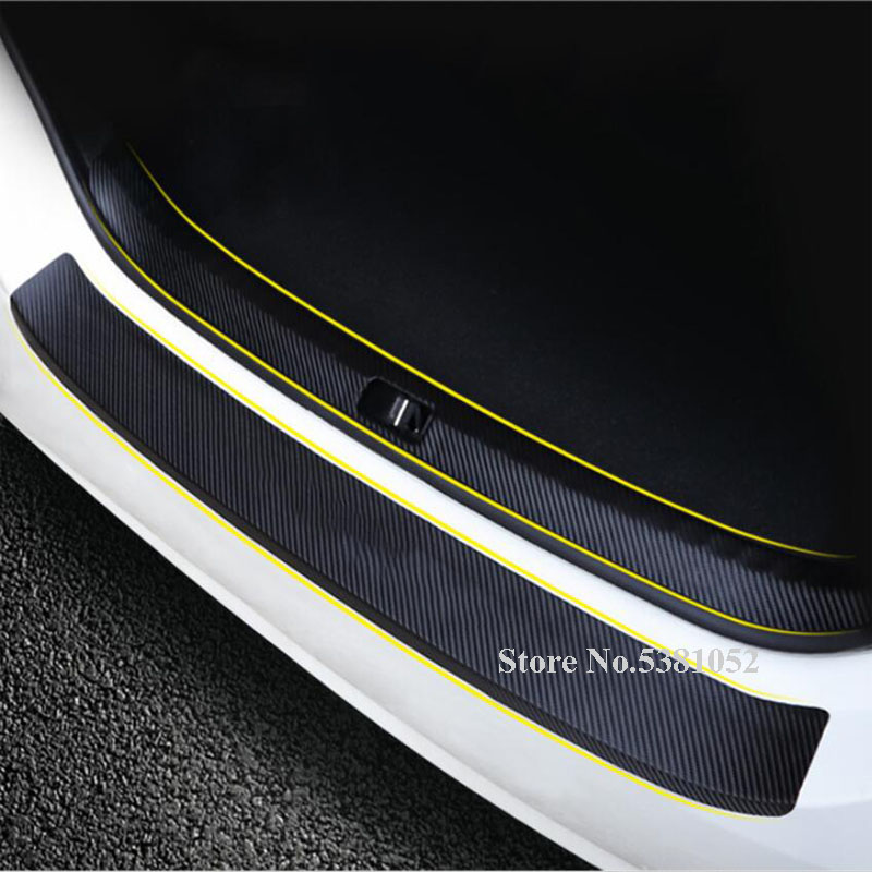 Steel Outer Rear Bumper Protector Plate Cover For Volkswagen VM T-Roc 2017 2018