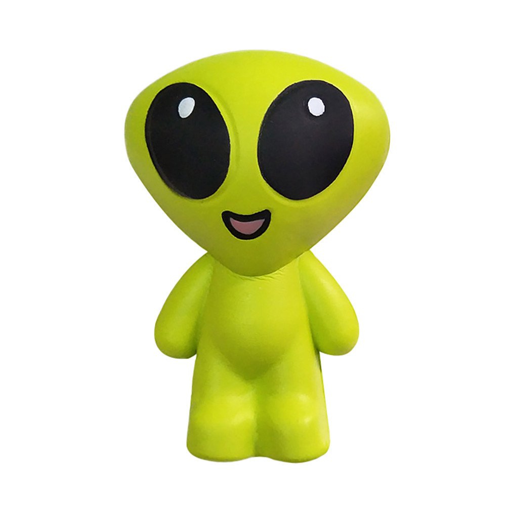 Lovely Big Eyes Alien Slow Rising Fun Toy Eliminate Antistress Finger Toy Decompression Squeeze Toys Cartoon Doll #A
