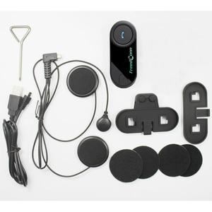 Image 5 - FreedConn T COMOS Bluetooth האינטרפון אופנוע קסדת אוזניות אלחוטיות אינטרקום FM רדיו + רך אוזניות מלא פנים קסדה