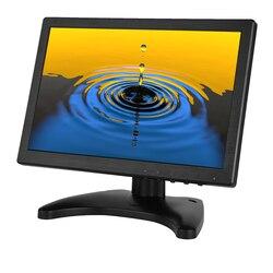 Tani monitor 10.1 cala 1280*800 monitor bezpieczeństwa w domu z VGA HDMI BNC BNC AV i głośnikami