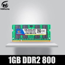 VEINEDA Ram 1GB DDR2 Sodimm Ram ddr2 533 667 PC2-53000 Menoria Ram para Intel AMD portátil Mobo(China)
