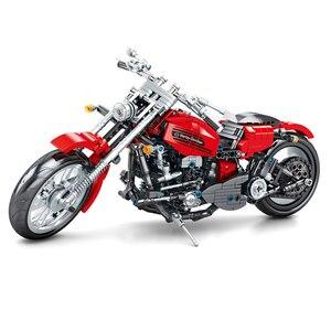 782pcs City Speed Motorbike Model Building Blocks Technic Motorcycle Creator Motor Car Bricks Educational Toy for Boys
